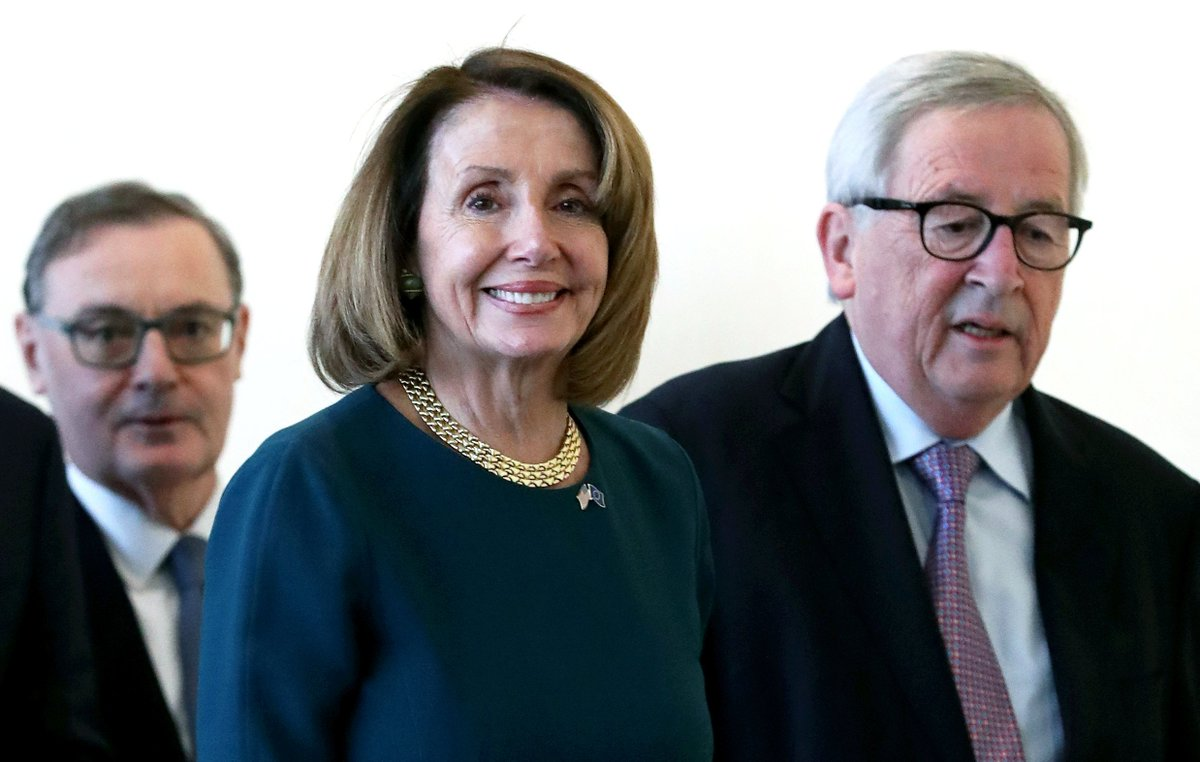 House Democrats introduced a resolution to block President Trump's emergency declaration and prevent him from appropriating $6.6 billion in federal funds for a border wall. Speaker Nancy Pelosi says Congress will vote on it Tuesday.
