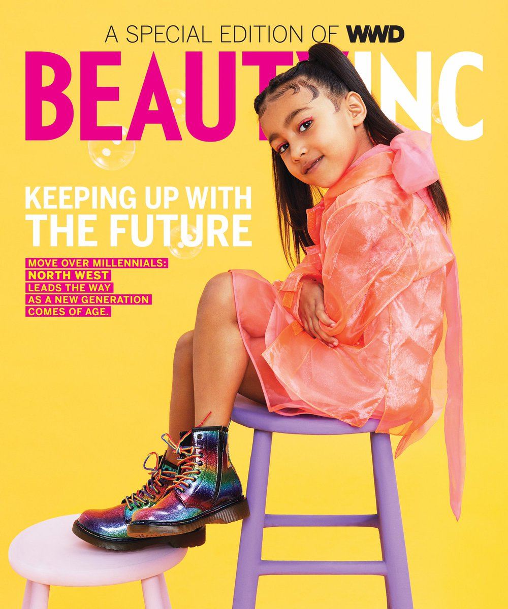 Kim Kardashian's daughter North lands 1st solo magazine cover at age 5