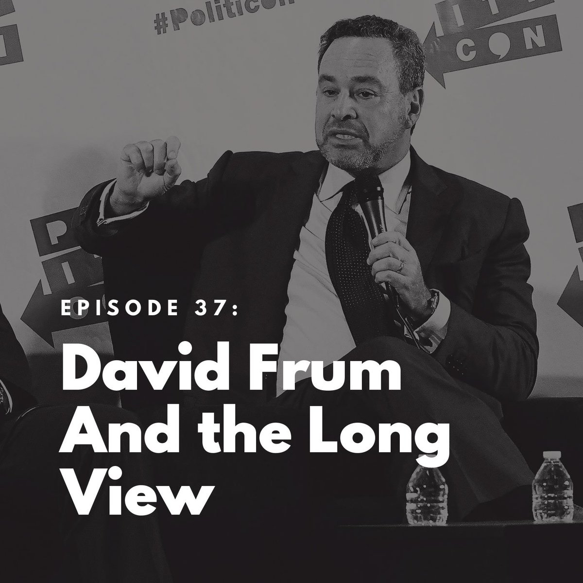 Here's @davidfrum on today's @BulwarkOnline podcast, joining @SykesCharlie to discuss taking the long view on politics and the GOP. From the Tea Party, the bailout, Obamacare, and now through the era of Trump.  https://podcast.thebulwark.com/david-frum-and-the-long-view…