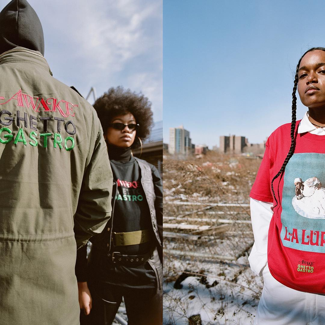 Launching during Black History Month with a campaign shot by Joshua Woods, Culinary collective Ghetto Gastro team up with Awake NY on a collection that celebrates the unification of black communities:  https://t.co/9tDqr3mjyi