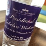 "It's Presidential Scholars Weekend again! Welcome #HPU2023 to campus. We are excited you are here. Good Luck with your interviews. Coach Matthew Killian will be on campus Saturday for the ""Live Here. Love It Here."" session. Come say hi! #HPU365 #HPUPresidentialScholars"