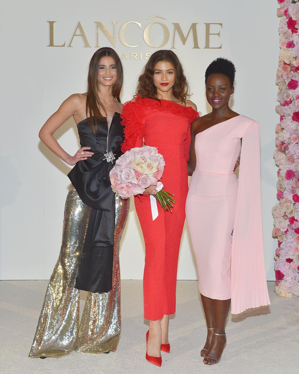 It's official: @Zendaya is now a #Lancome Ambassadress! A warm welcome to the club!  💄: Lancôme Color Design in Socialite