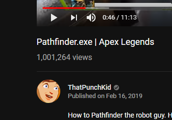 :O First Apex vid hit 1,000,000 views in under a week!  @Respawn Sponsor me cus Blizzard didn&#39;t<br>http://pic.twitter.com/dpwZnTKYXe