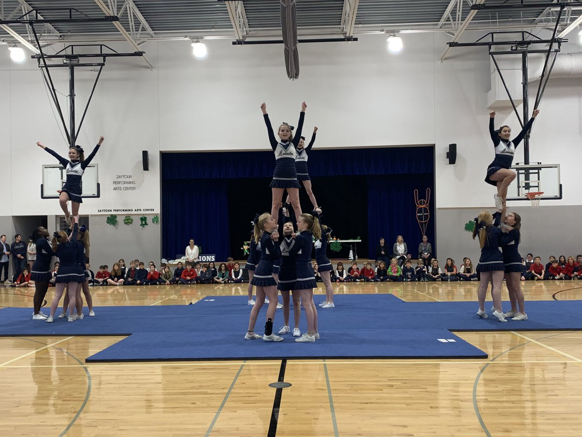 We're having lots of fun at our Pep Rally this morning in support of our varsity teams who are heading to Shamrock in Charlotte this weekend! Good luck and Go Lions!     #ollsraleigh #shamrocktournament<br>http://pic.twitter.com/6LGIWas8qJ