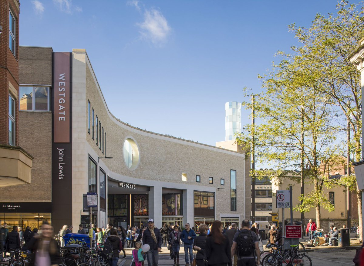 2,000 new jobs created and and an 8.9% increase in city centre footfall - @RevoLatest revisits @WestgateOxford a year on from opening http://bit.ly/2EoHbCc