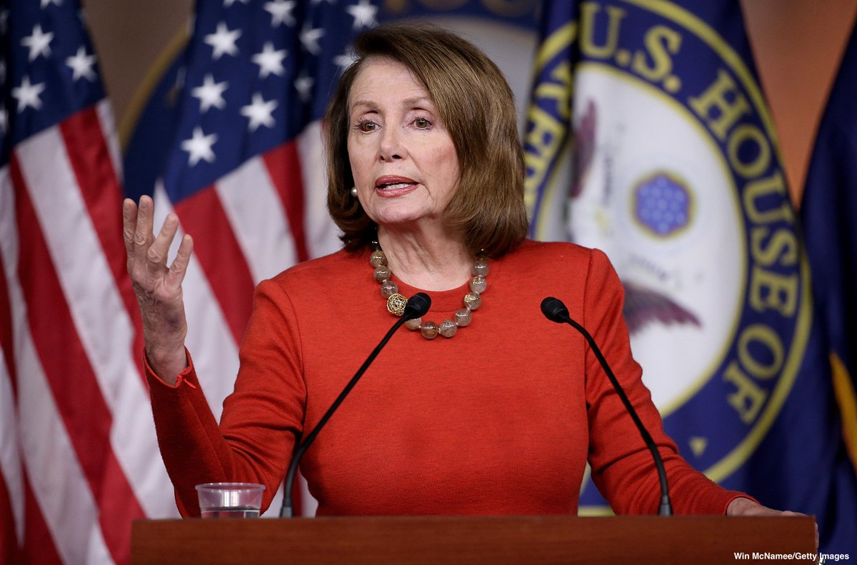 NEW: Speaker Nancy Pelosi will bring a resolution to terminate Pres. Trump's national emergency proclamation up for a vote on Tuesday. https://abcn.ws/2SW6sfV