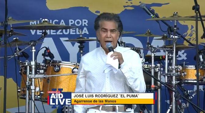 Se desarrolla el festival Venezuela Aid Live en Cúcuta, Colombia