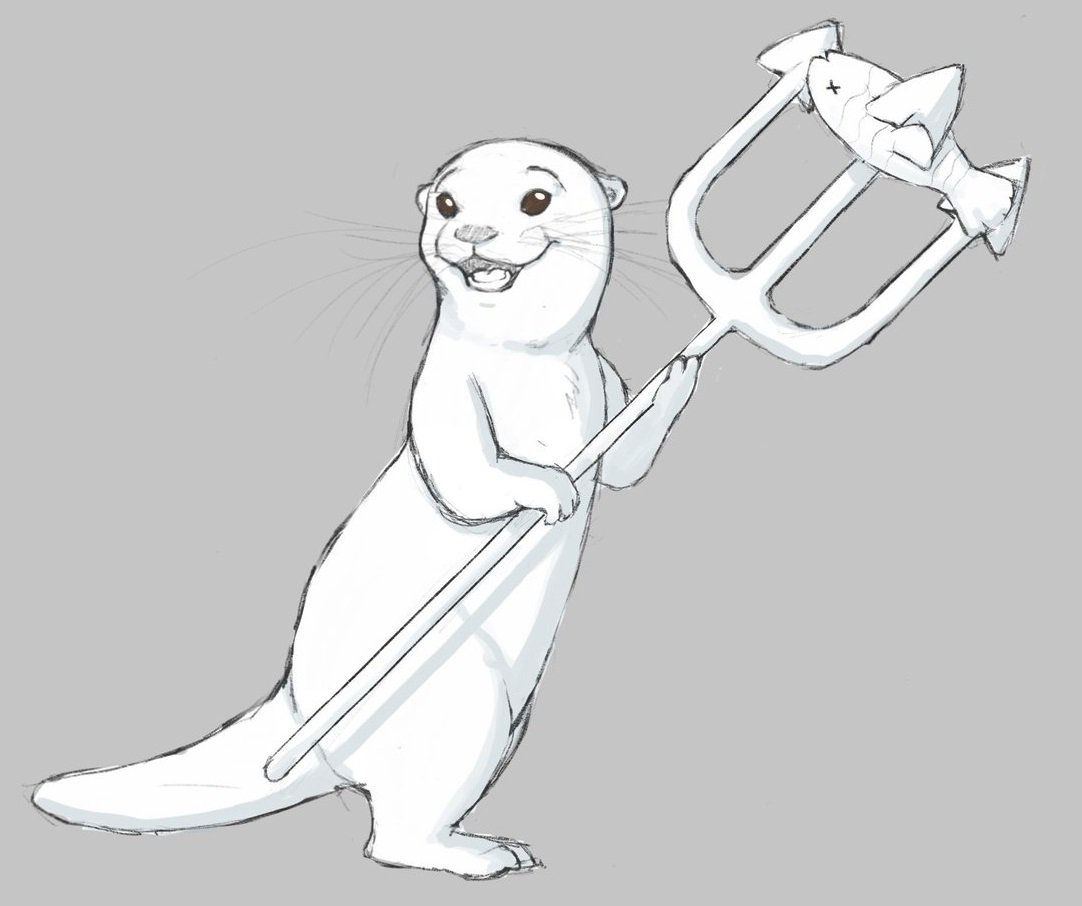The first concept art for the Otters! <br>http://pic.twitter.com/EHrQiGgGJq