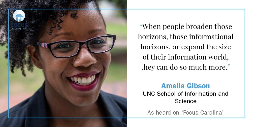 Public libraries are powerful community assets. Hear why @uncsils professor Amelia Gibson works to ensure they're accessible to all community members, including people with autism and their families: https://t.co/KtHsdPgz55 https://t.co/zfv12Vw8dY