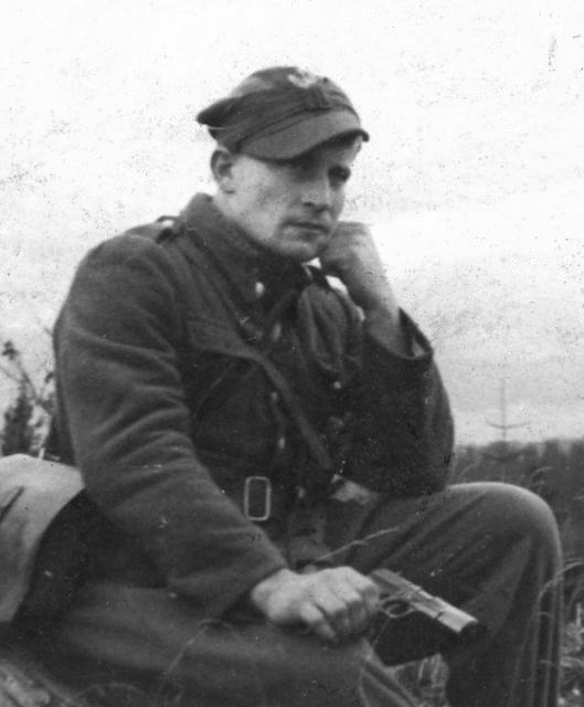 """72 lata temu w szpitalu w Nowym Targu zmarł mjr Józef Kuraś """"Ogień"""", dowódca oddziału podziemia antykomunistycznego. Dzień wcześniej otoczony przez UB i KBW nie chcąc dostać się do niewoli, próbował popełnić samobójstwo ➡️https://zkr.ipn.gov.pl #ŻołnierzeWyklęci #Pamiętamy"""