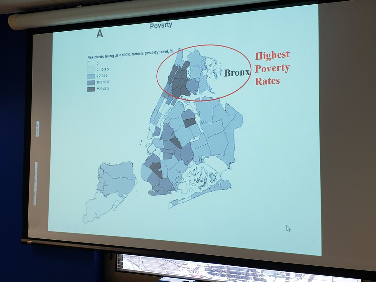 Did  you know that the Bronx is the poorest County in the US? Neither did we, but groups like @bxhealthystart are working hard to reverse the tide. Aisha Moore of the    @JSIhealth #EpicCenter is leading a discussion on Root/Cause Analysis to work on change. #Not62 @BxHealthREACH