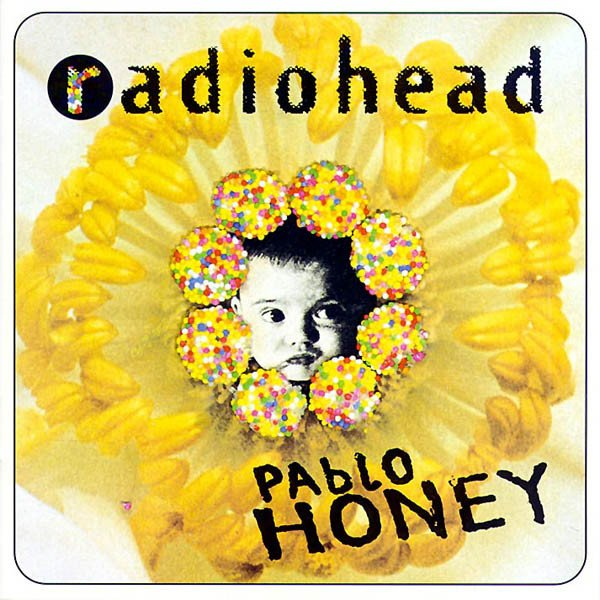 "radiohead's debut album 'pablo honey' was released today in 1993. ""creep,"" the album's most famous single, was initially banned from british radio for being ""too depressing"" 😭"