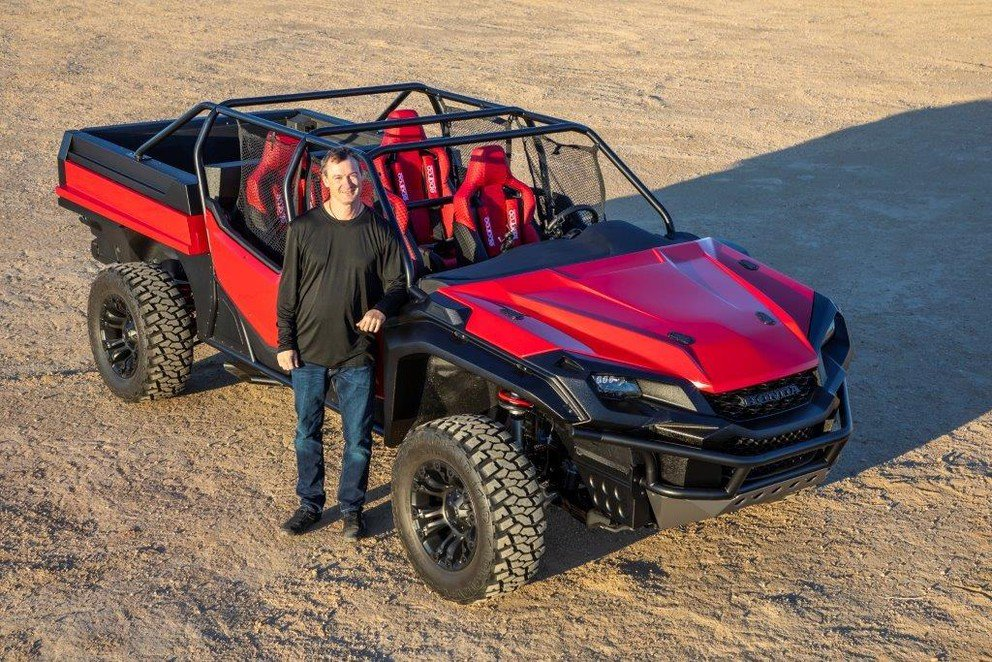 Two Penn State mechanical engineers are using their passion for engineering excellence and their #PennState pride to create the @Honda ROAV, the ultimate adventure vehicle. http://ow.ly/FH6m30nKQQs