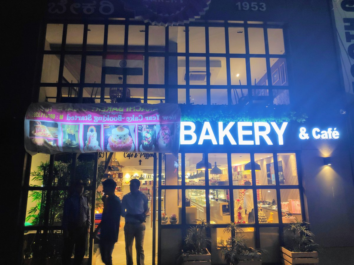 Few unidentified people arrived at Karachi Bakery in Bengaluru's Indiranagar and demanded that the name of the bakery be changed. The people running the bakery covered the word 'Karachi' and displayed the India flag to pacify and diffuse the situation.