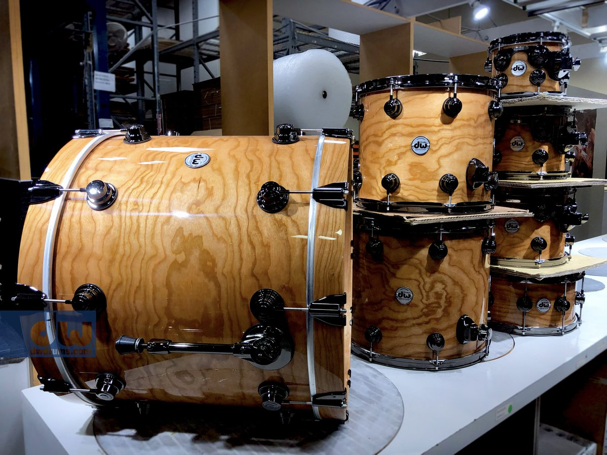 Hand Selected Pure Cherry Shells! Cherry is a bit warmer than maple and offers a punchy, round timbre. What would you dream up? #dwdrums<br>http://pic.twitter.com/N4QeVbNORz