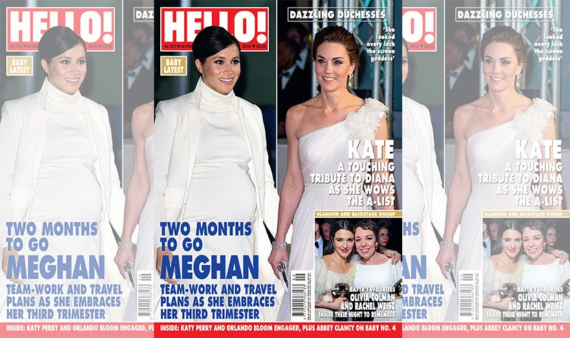 Have you picked up a copy of this week's issue yet? Kate looked incredible at the BAFTAs and Meghan is glowing in her third trimester balancing team work and travel. On sale now.