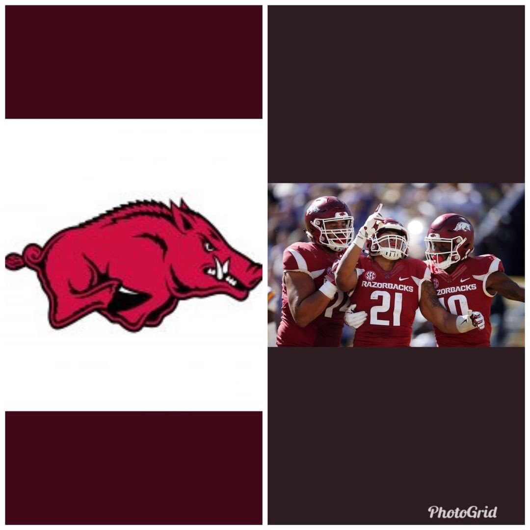 Extremely Blessed for all that's happening for me. Just received my 4th SEC offer from The University of Arkansas #WPS   @coachchadmorris @coachjstepp @shayhodge3 @CoverGang_CEO <br>http://pic.twitter.com/PGpRrjuuOg