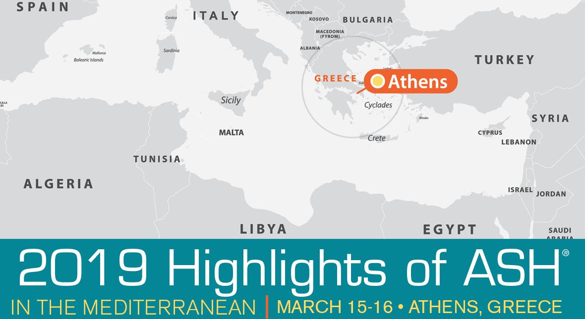 Highlights of ASH in the Mediterranean is an interactive event showcasing the most influential hematology research presented at #ASH18. Attend & listen to world-class experts discuss challenging cases relevant to the Mediterranean region https://t.co/Nmwg6oU5kb  #ASHighlights