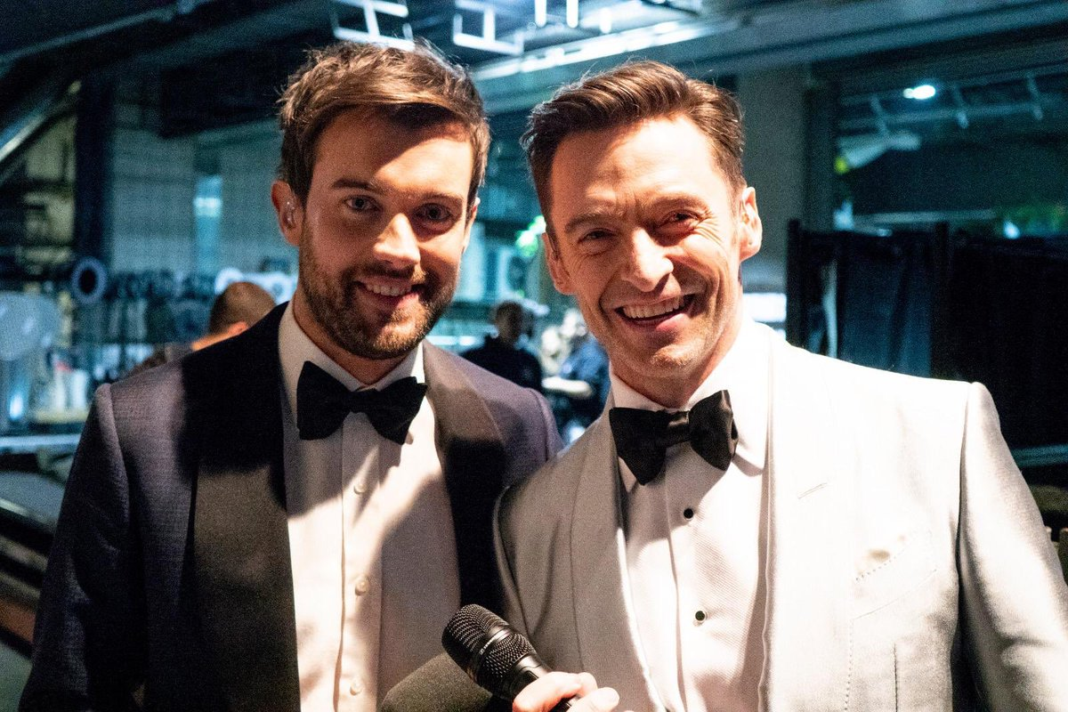 Don't meet your heroes. Unless your hero is this absolute legend @RealHughJackman thank you for letting me totally cramp your style. #BRITAwards #TheGreatestShowman
