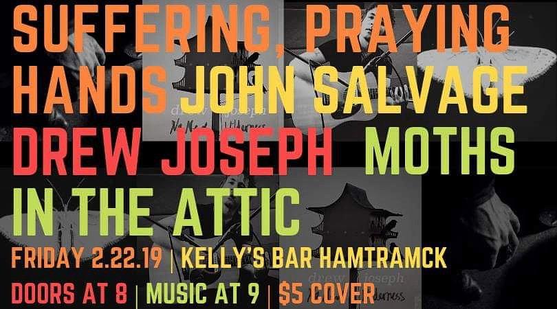 #tonight #detroit #hamtramck #livemusic #kellysbar #mothsintheattic