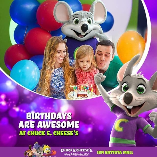 Where A kid can be A kid Celebrate your kid's birthday and get our awesome promo during the month of March #birthday #dubaievents #party #birthdayparty #chuckecheese #kids #March #MothersDay https://t.co/knROW0D1a0