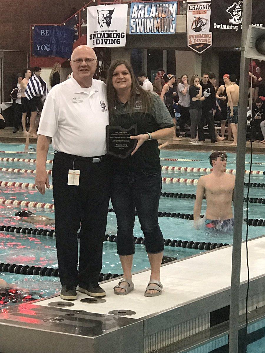 Oak Harbor Swimming A Twitter Coach
