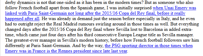 As someone following La Liga as I do apart from Ligue 1, how Sevilla and PSG's history changed in the summer of 2016. What I blogged after #Rennes got #RealBetis in the #EuropaLeague last 32 late last year: https://littlemissdiana.blogspot.com/2018/12/real-betiss-slow-and-steady.html… #Arsenal #UELdraw