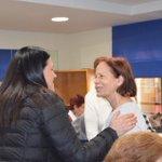 Image for the Tweet beginning: Nuestra presidenta @MirinaCortesO ha compartido