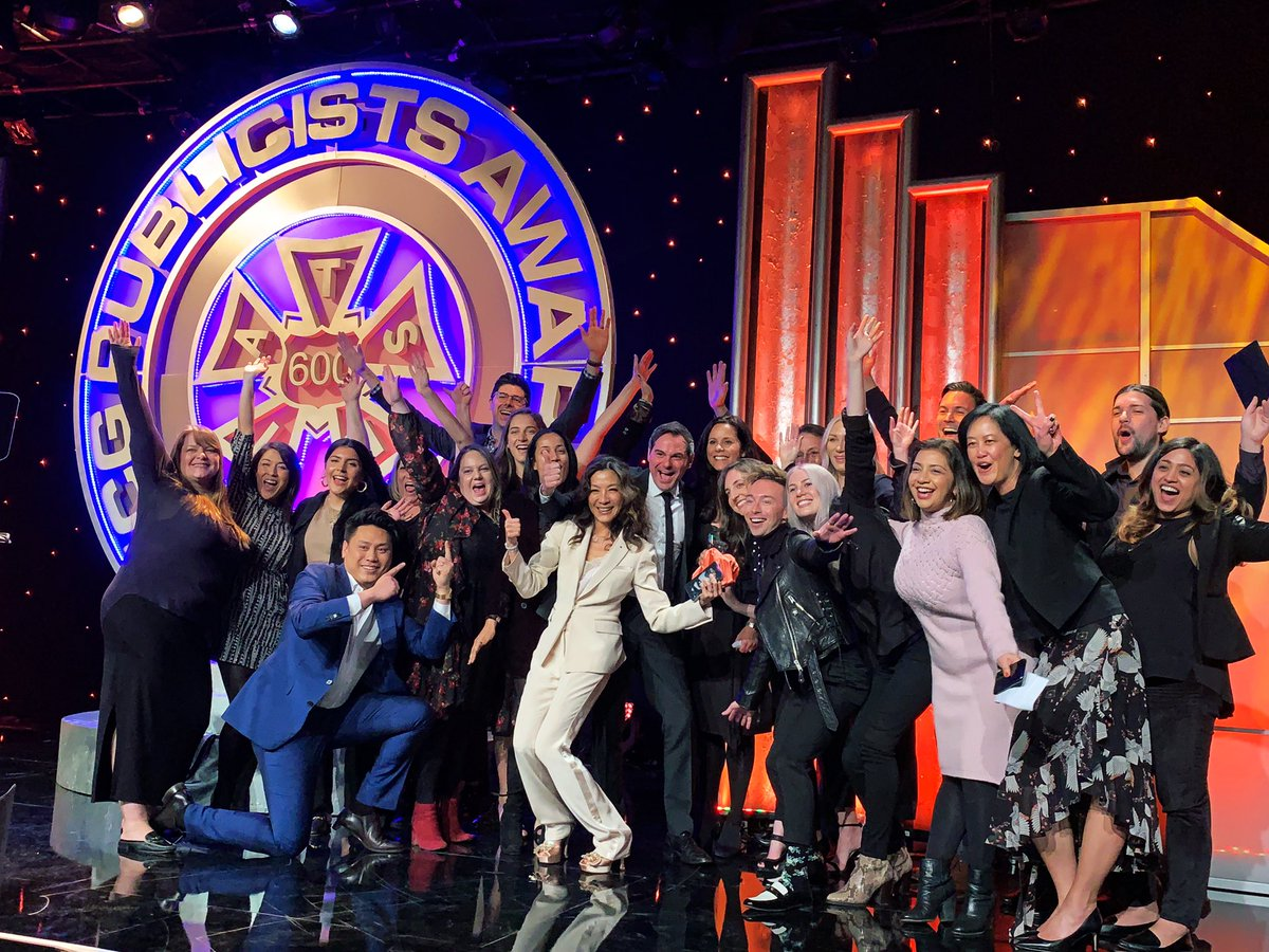 That's a wrap at the #PublicistsAwards! Congratulations to all the honorees and winners!
