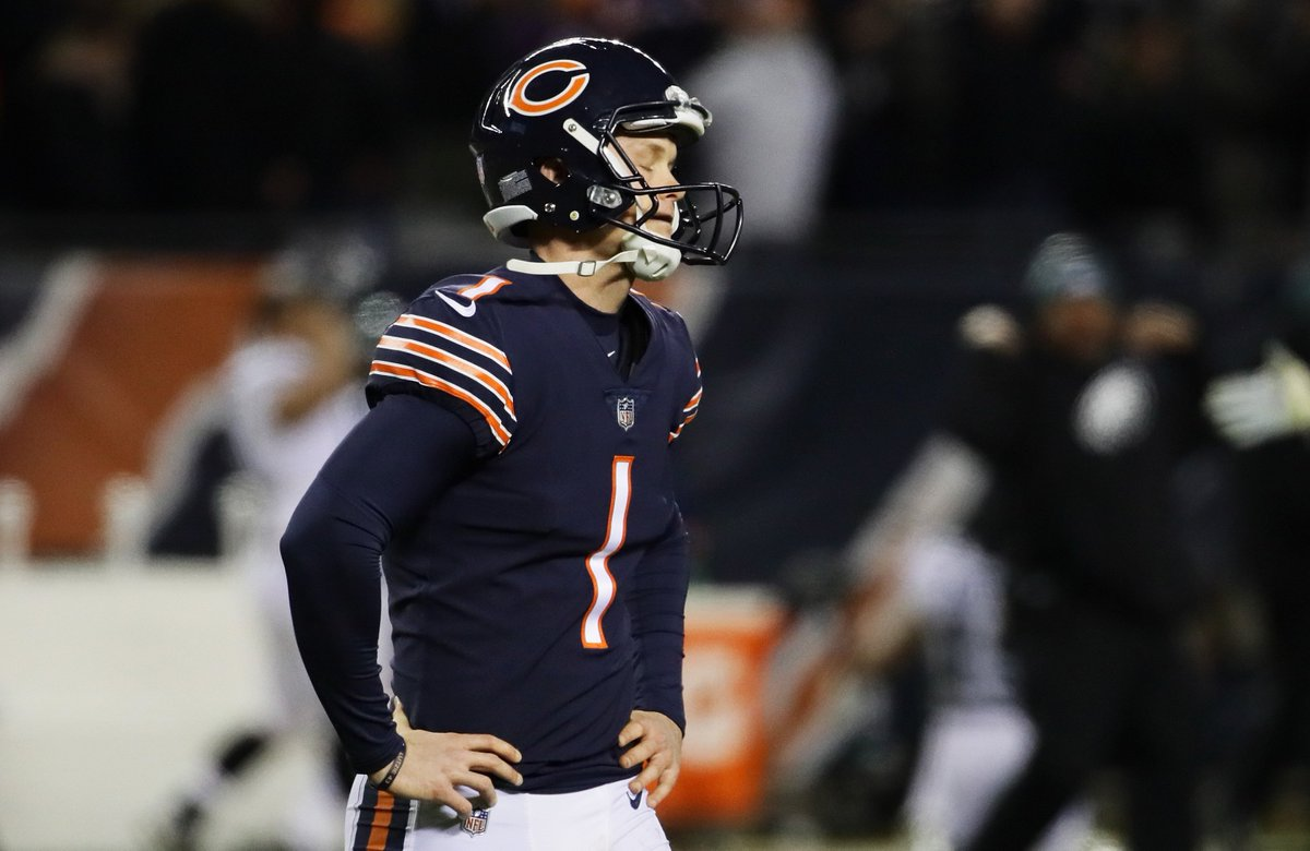 The Bears are going to release Cody Parkey at the start of next season, he's still due $3.5M on 2019 contract, per  @RapSheet