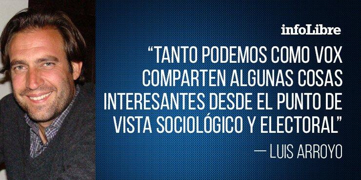 #LoMásComentado   'Podemos y Vox, primos lejanos', el artículo de @LuisArroyoM http://ow.ly/fg6e30nN4tY