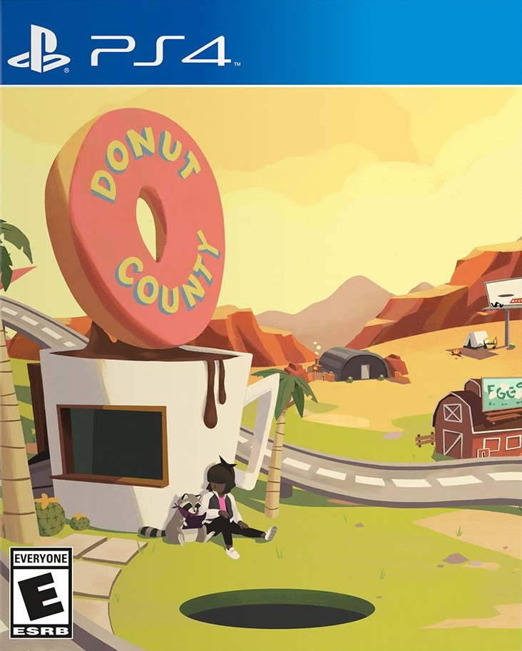 Donut County / PlayStation 4 / iam8bit / 2019 <br>http://pic.twitter.com/MsWOFgG5QR