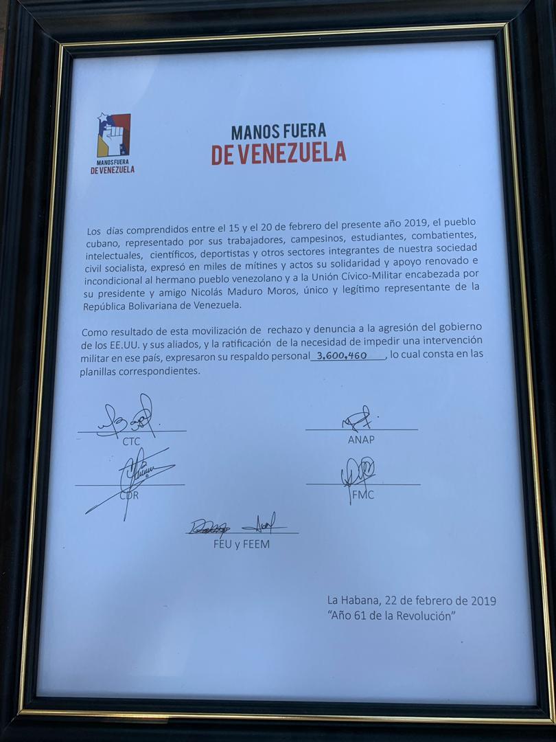 Maduro: Si algo me pasa, ¡retomen el poder y hagan una revolución más radical! - Página 8 D0C6SHuWsAEJhQU