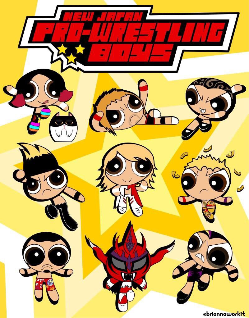 Oh my gosh, #NJPW as the Powerpuff Girls is a crossover I never knew I needed! These are so cute!!!   H/T BriannaWorkIt on IG  https://www. instagram.com/p/BuFlkmdnaRx/ ?utm_source=ig_share_sheet&amp;igshid=1haam2z6hjtb9 &nbsp; … <br>http://pic.twitter.com/YnjNhAMdGx