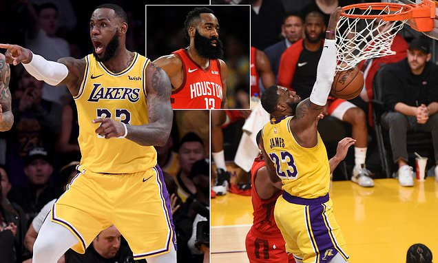 LeBron James leads Lakers to overturn 19-point deficit in stunning comeback win over high-flying Houston Rockets  https://t.co/lfc7GhSh6r