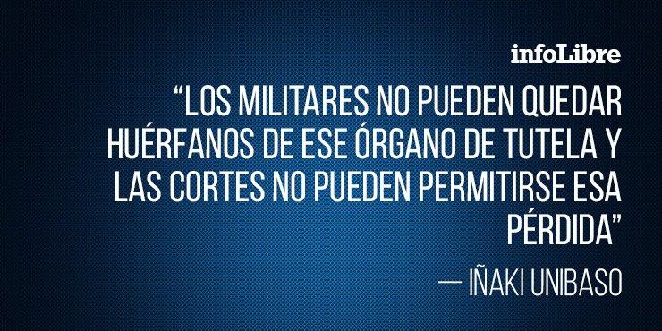 'El Parlamento deja a los militares sin Observatorio', el artículo Iñaki Unibaso en @FMD_es http://ow.ly/ZARD30nNivF
