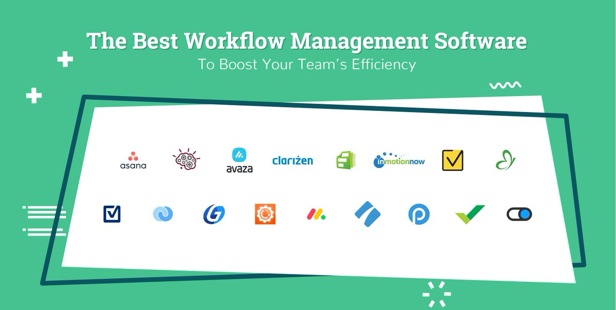 The Digital Project Manager On Twitter We Like To Make Things Easier For You We Did Some Research And Found The Best Workflow Management Software To Boost Your Team S Efficiency Check