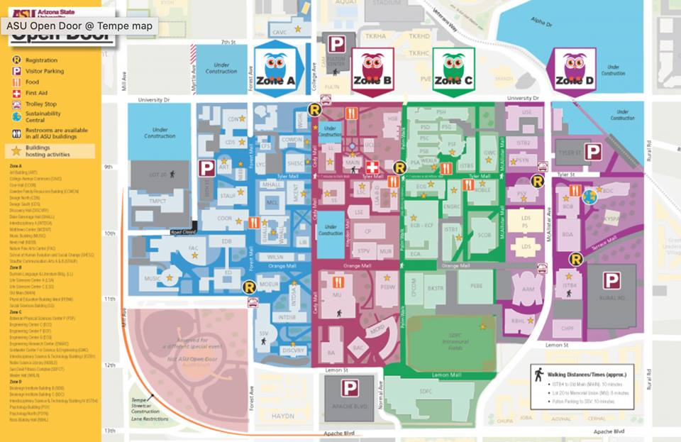 asu map tempe campus Asuopendoor On Twitter We Can T Wait To See Everyone At Asu S asu map tempe campus