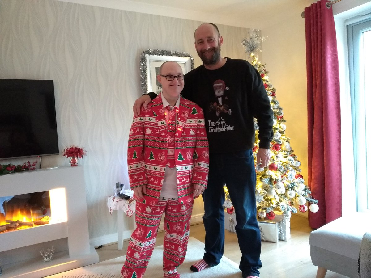 Me and my big brother, the best Christmas suit ever <br>http://pic.twitter.com/5BCH3a3vo6