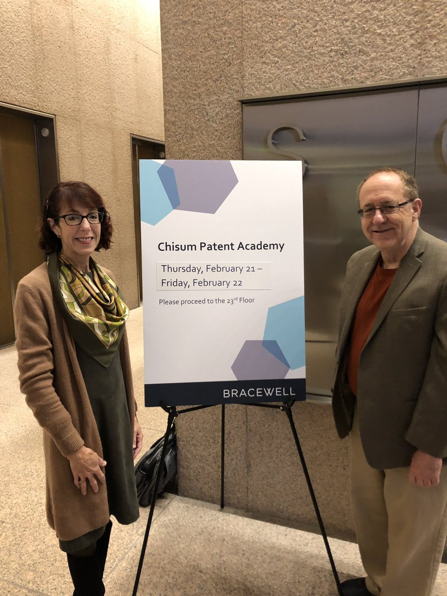 test Twitter Media - Starting day two of a terrific advanced #patent law seminar we're holding at @BracewellLaw Houston https://t.co/GHglIMDXOz