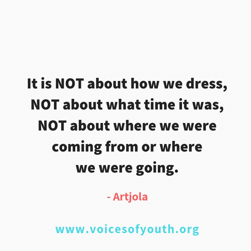 Every woman and girl has a right to feel safe - no matter where they are.  https://t.co/zQg0JnM4lB  #ENDviolence  @voicesofyouth