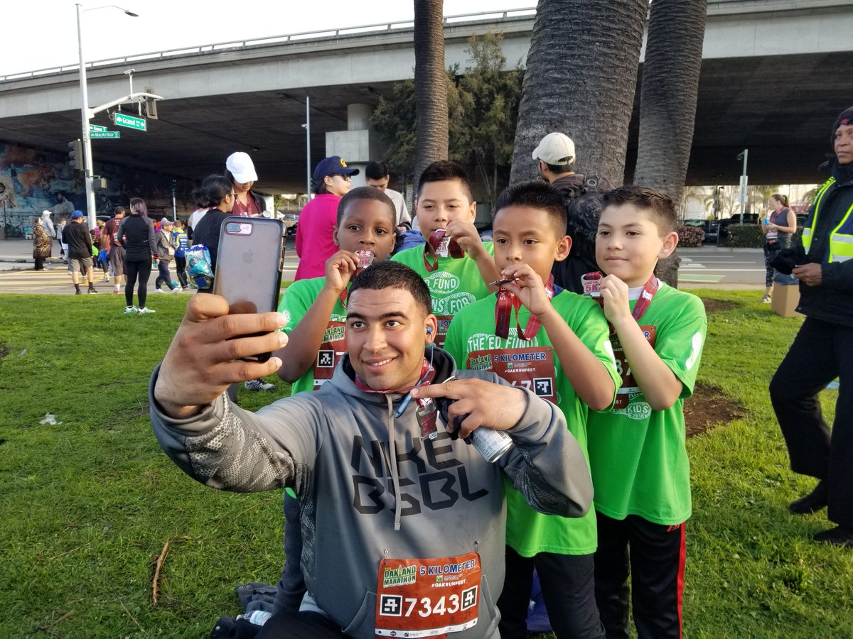 """""""As an @AmeriCorps service member with @up2ussports, my greatest accomplishment has been building a sport-based trauma-sensitive culture within the @OUSDNews community at Acorn Woodland Elementary."""" - Nick, @NationalGuard member, 2nd year Up2Us Sports Coach. #EverySchoolHealthy"""