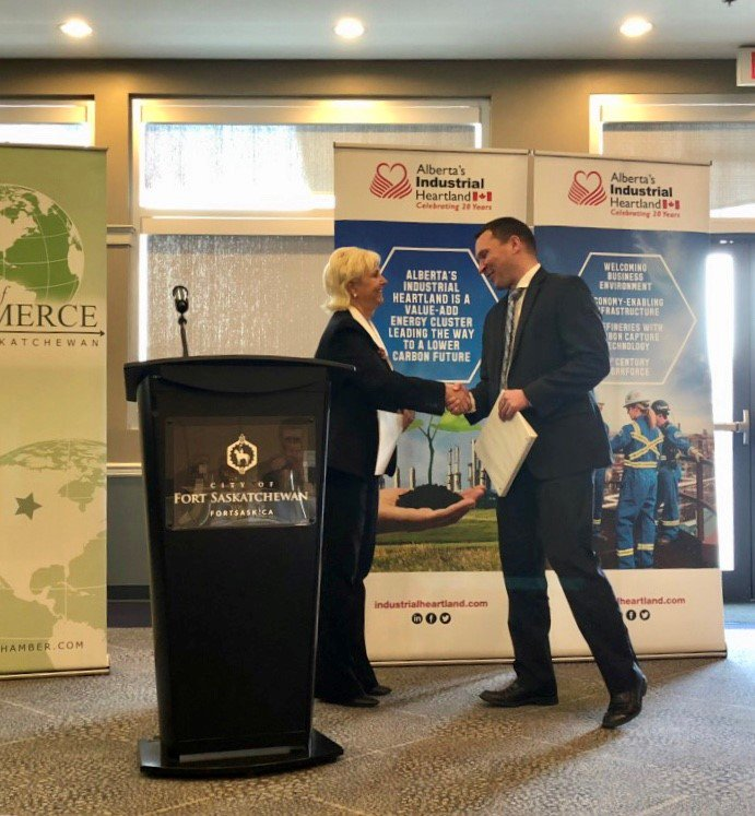 Competitiveness, investor confidence, & meaningful incentive programs are key to attracting and retaining investment in AB's Industrial Heartland. We welcome a chance to engage @DeronBilous & @JLittlewoodNDP & we are encouraged by their support for #petrochemicals sector.