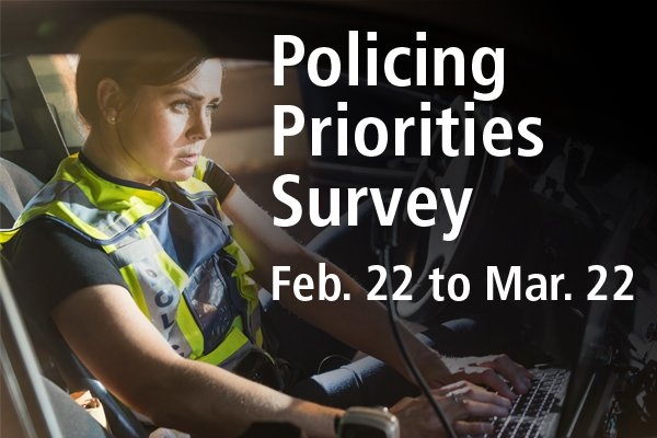💡Citizens of #BeaumontAB: We invite you to please take this short #Policing Priorities Survey available online (Feb.22- Mar. 22) at https://www.surveymonkey.com/r/RCMP19COB . This will help us set policing priorities (2019) for our community.