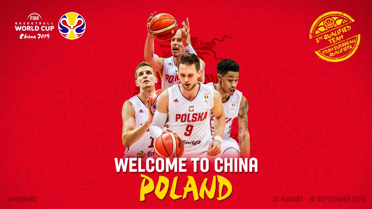 Congratulations @KoszKadra  on advancing to the #FIBAWC for the 1st time in 52 years .  See you in China . #ThisIsMyHouse<br>http://pic.twitter.com/bD9EdpmWCZ