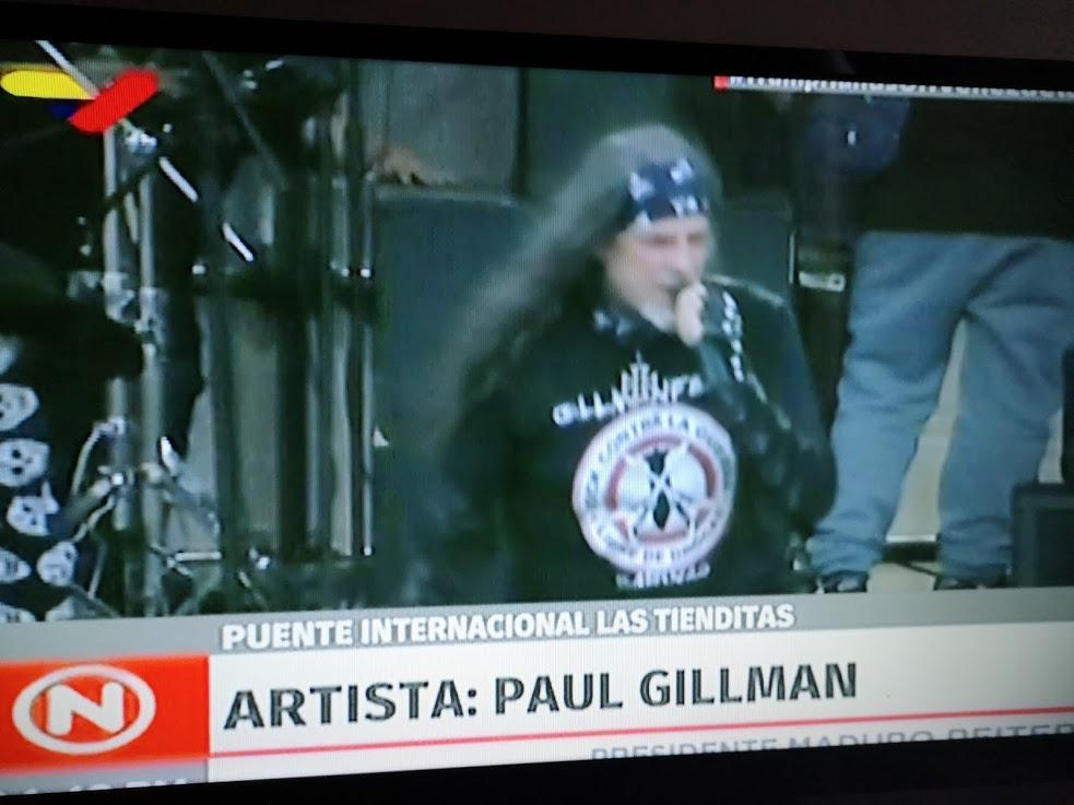 """I had the opportunity to """"enjoy"""" the work of Paul Gillman, I suppose that was tropical metal or something similar (not clear). But all things have their limit, I am switching to #VenezuelaAidLive, bye bye."""