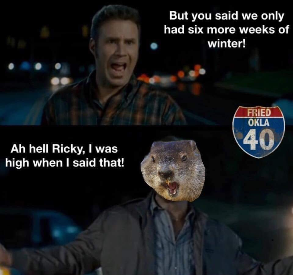 Damn groundhogs, I need spring   #OMC #Michigan #WinterStorm #FridayFeeIing<br>http://pic.twitter.com/5PcXqnW1j7