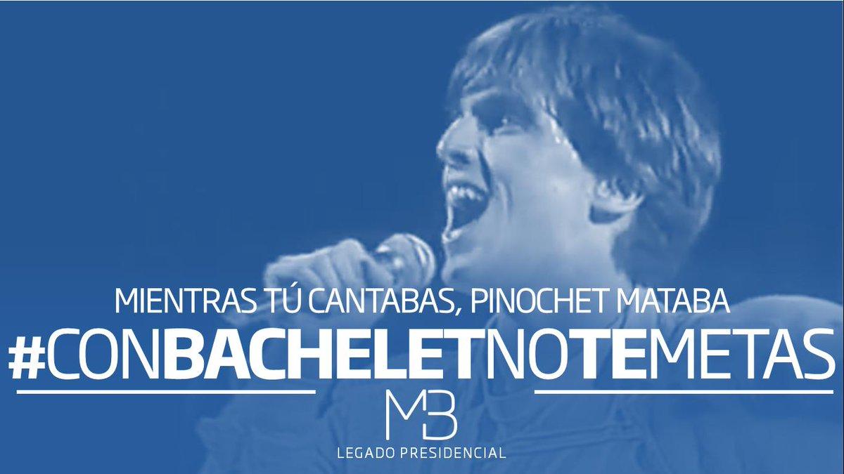Mov. Legado Bachelet🌹's photo on #ConBacheletNoTeMetas