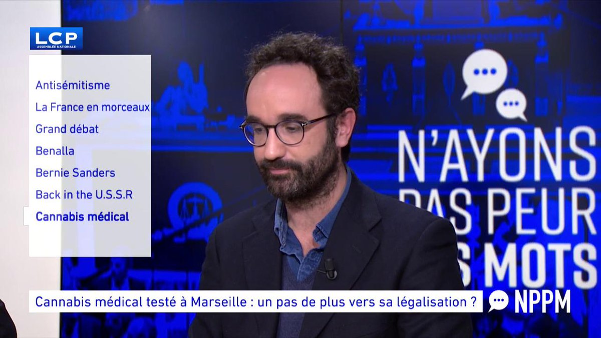 Image for the Tweet beginning: Légalisation du #Cannabis en France