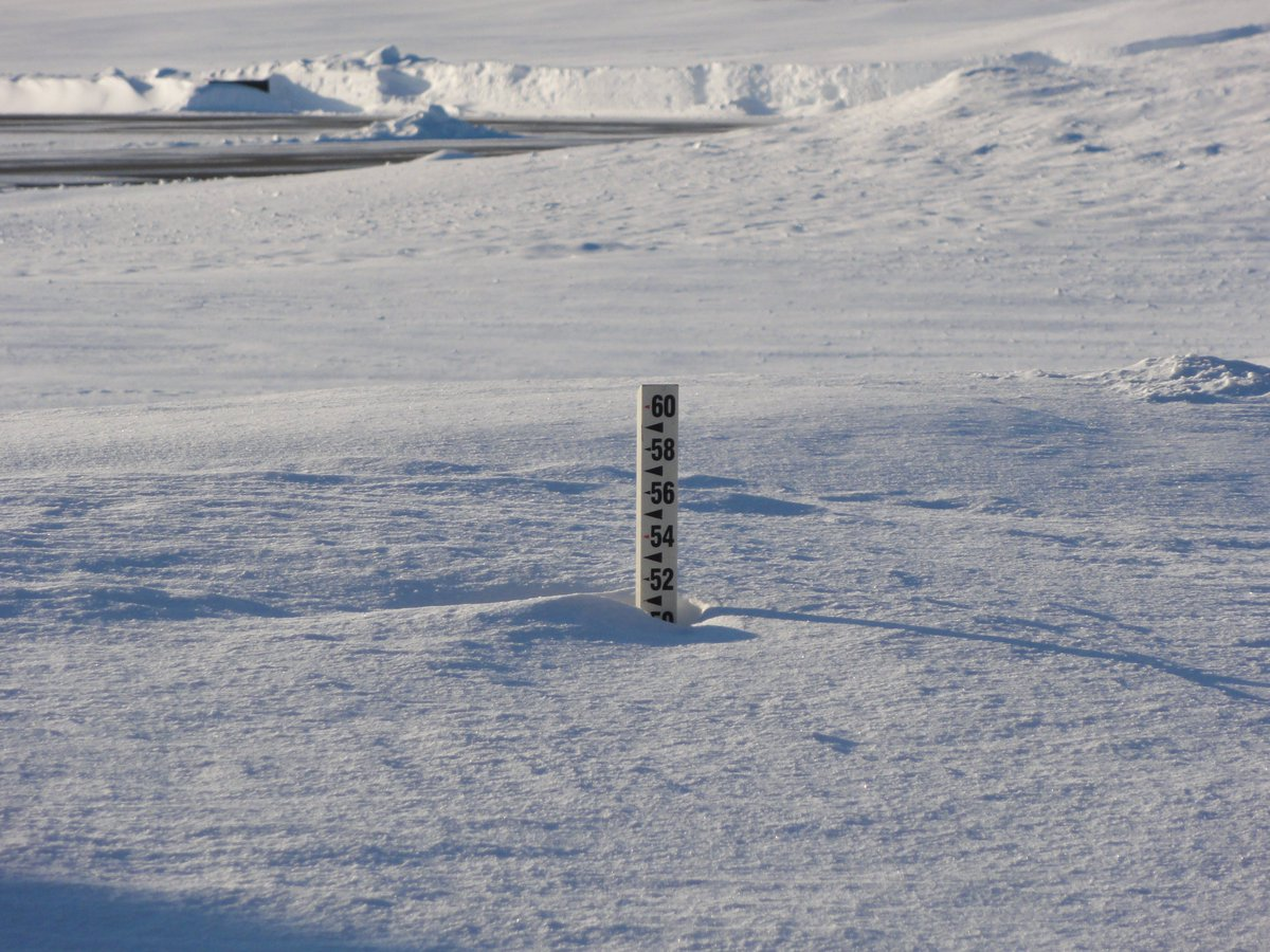 What are we going to do?  One of our 4 snow stakes is at 51&quot;, and it is possible that it might completely disappear after the next winter storm Sunday into Monday. #mewx<br>http://pic.twitter.com/yLbEVdaijB